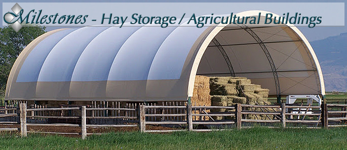 Hay Storage Fabric Covered Buildings From Mbd Buildings
